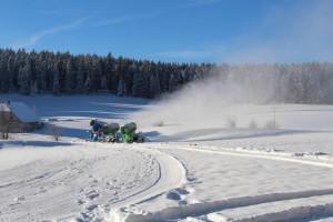 2015-11-24 erster Einsatz im Skistadion Wittenbach